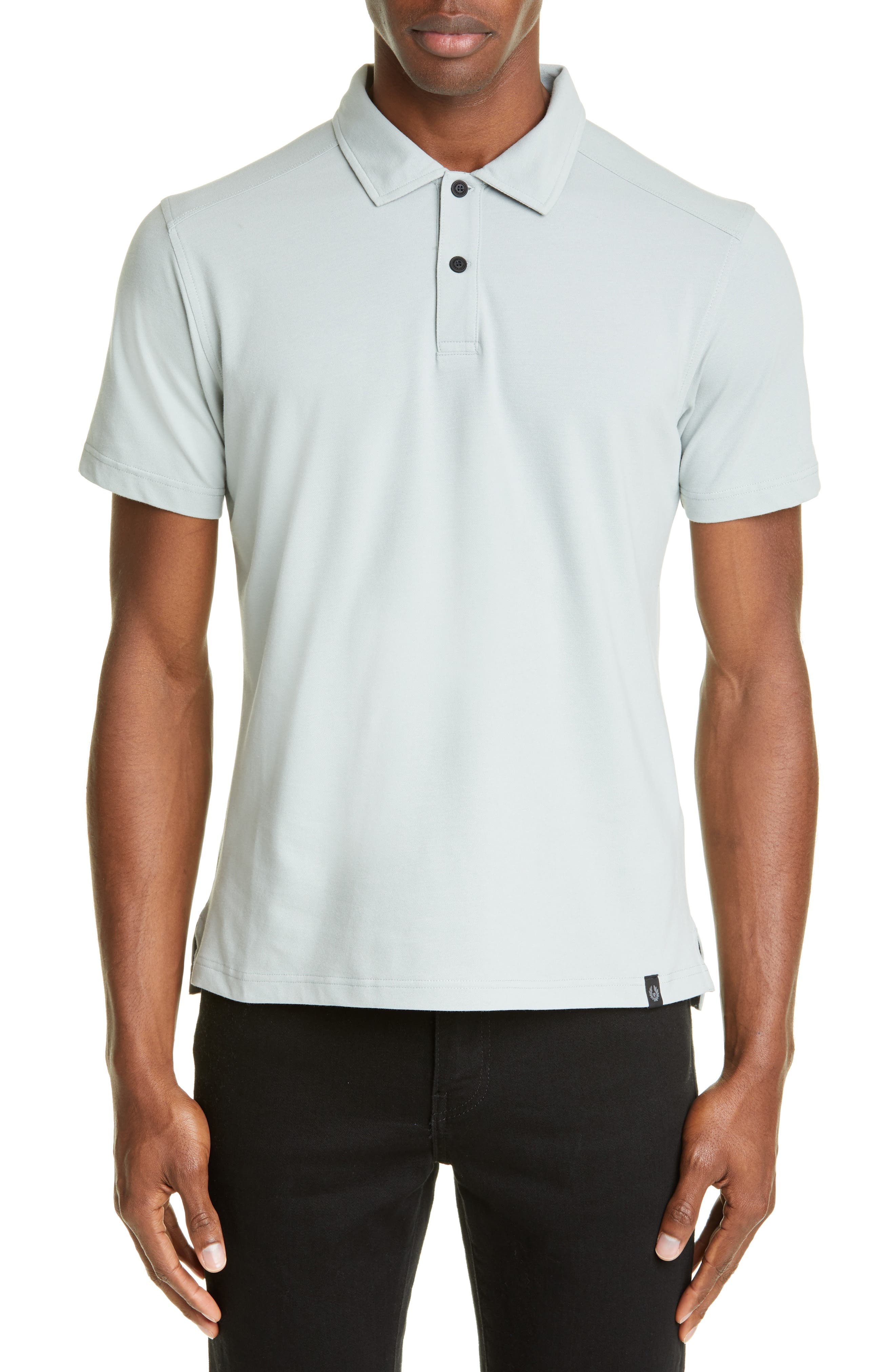 Belstaff Limehome Pique Polo, White