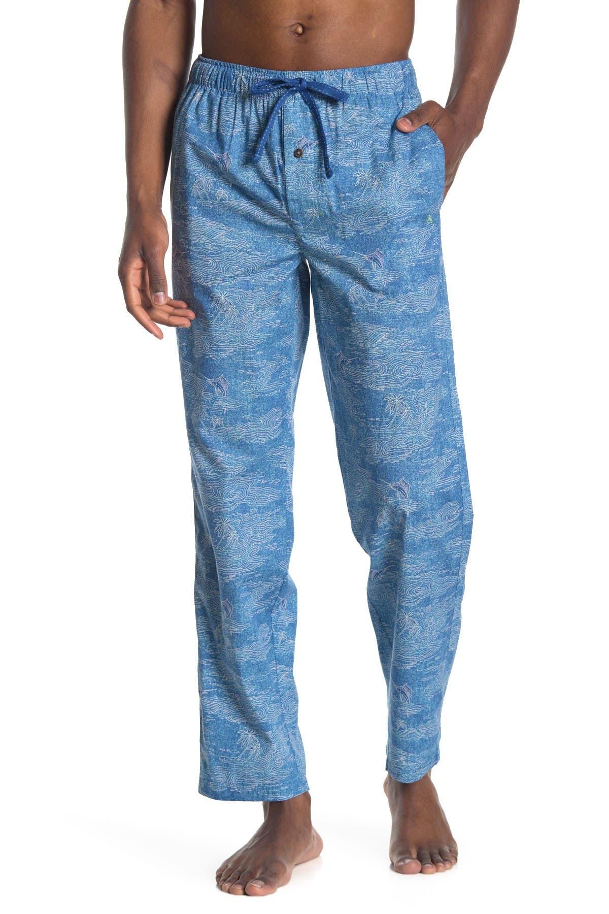 Image of Tommy Bahama Printed Drawstring Pajama Pants