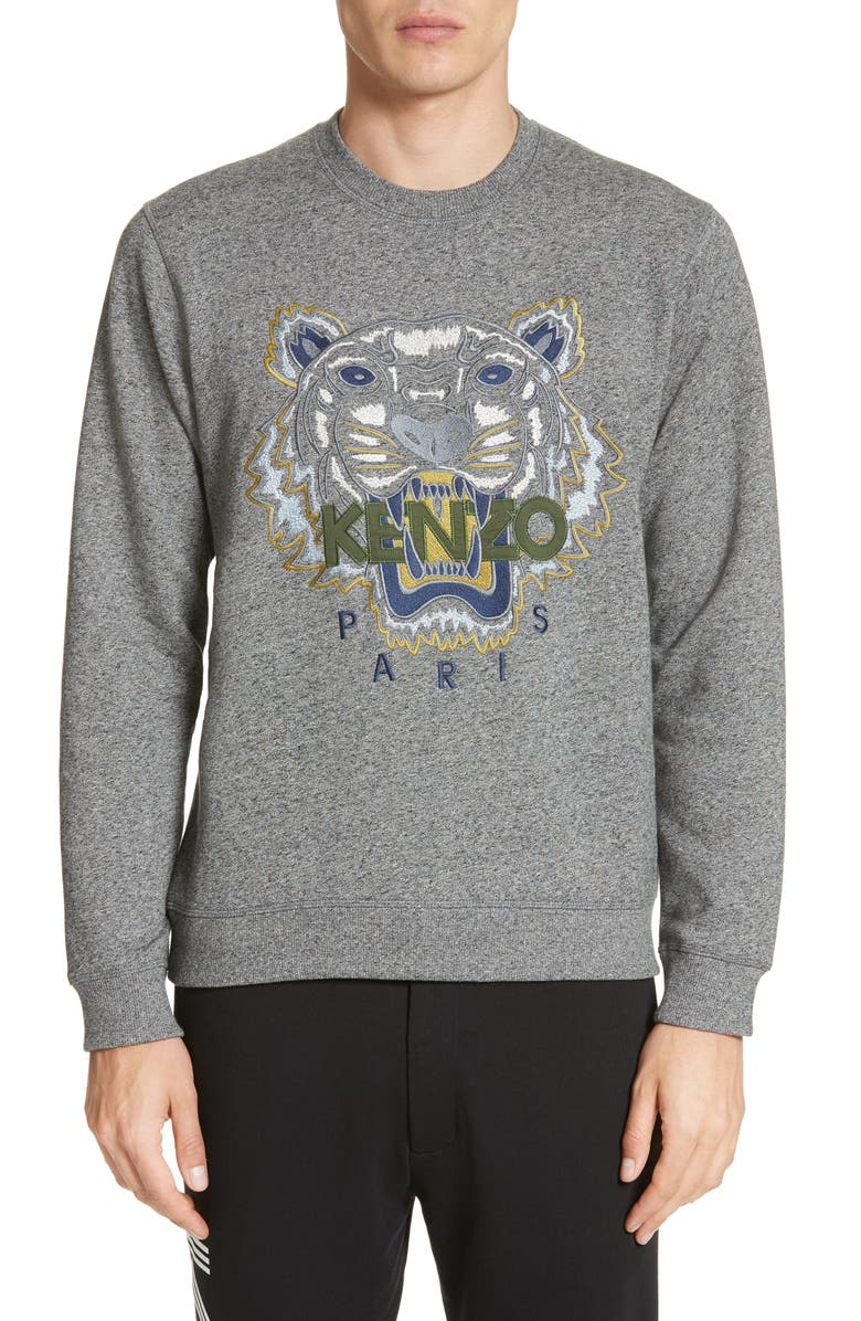 KENZO Tiger Sweatshirt, Main, color, 022
