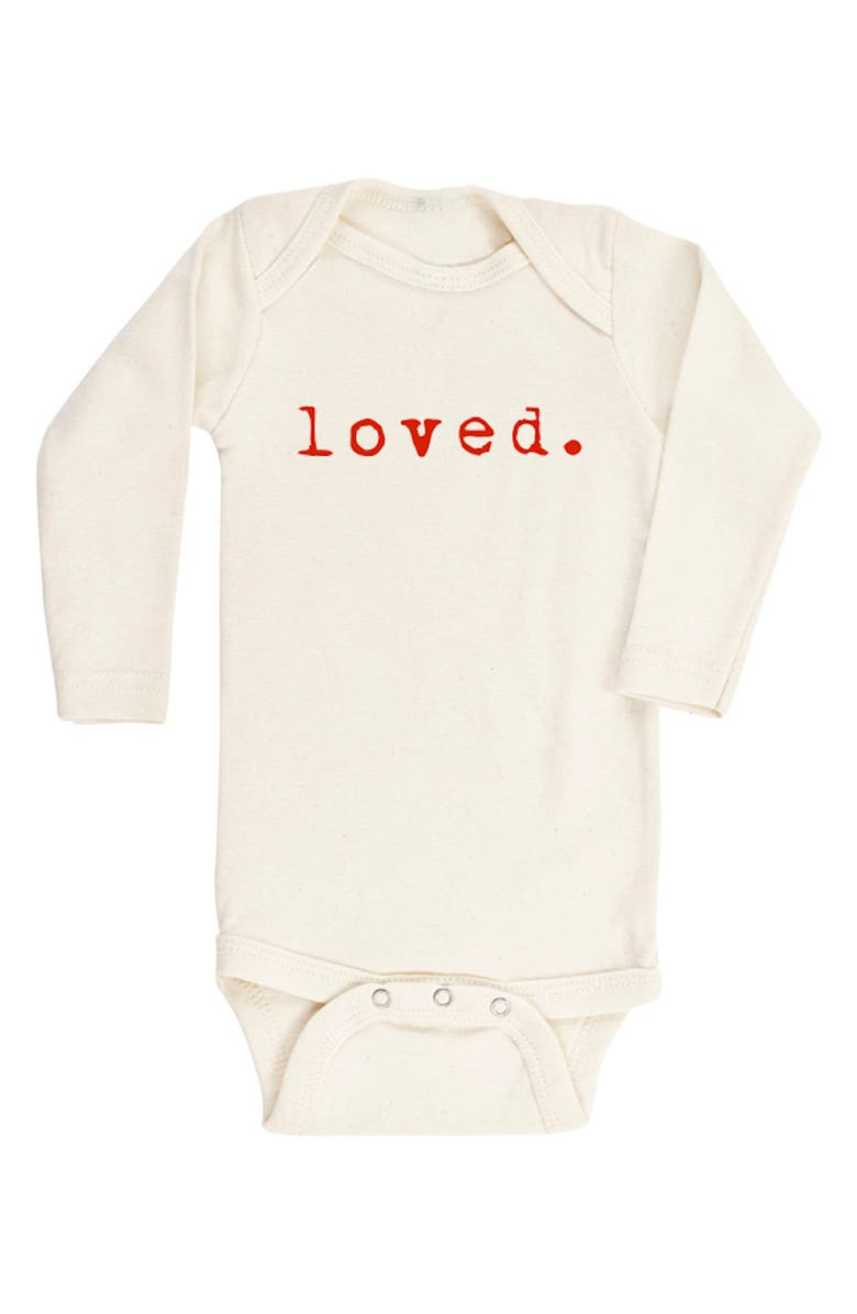 TENTH & PINE Loved Organic Cotton Bodysuit, Main, color, 900