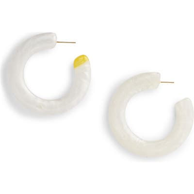 Cult Gaia Mira Small Flat Hoop Earrings