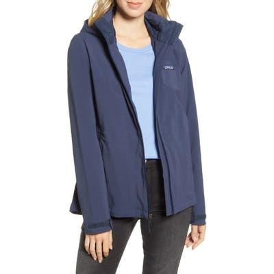 Patagonia Quandary Waterproof Hooded Jacket, Blue