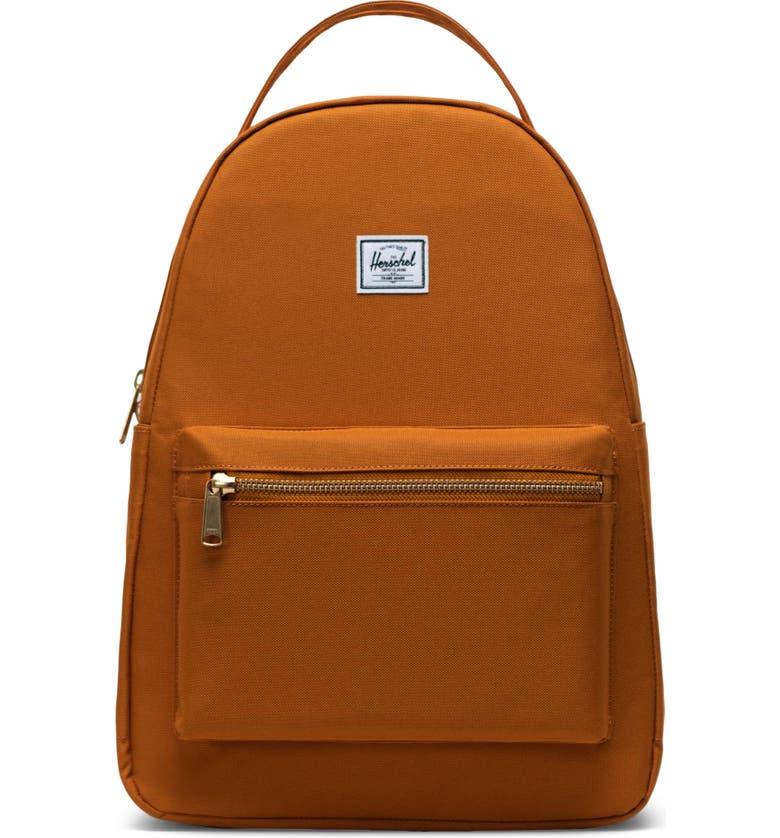 HERSCHEL SUPPLY CO. Nova Mid Volume Backpack, Main, color, PUMPKIN SPICE