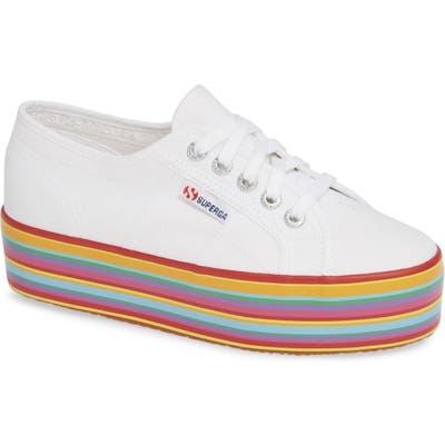 Superga 2790 Platform Sneaker - White