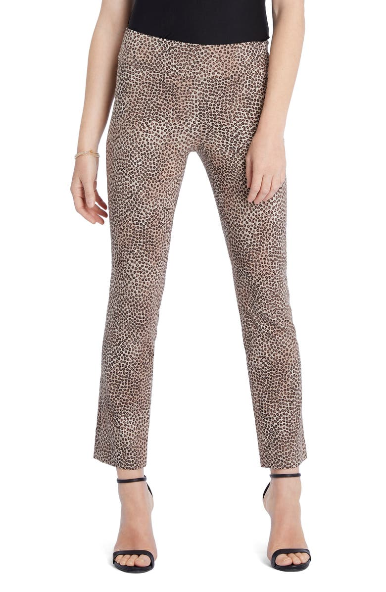 NIC+ZOE Savanna Spot Wonderstretch Ankle Pants, Main, color, MULTI