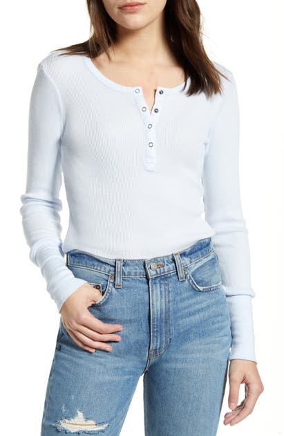Splendid Tops CLASSIC HENLEY THERMAL
