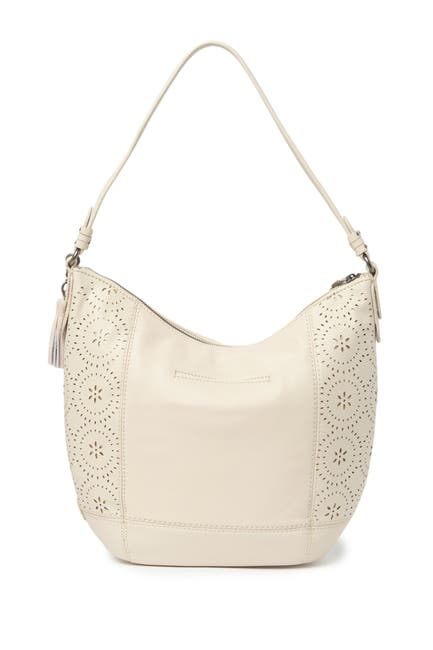 Image of The Sak Sequoia Leather Hobo Bag