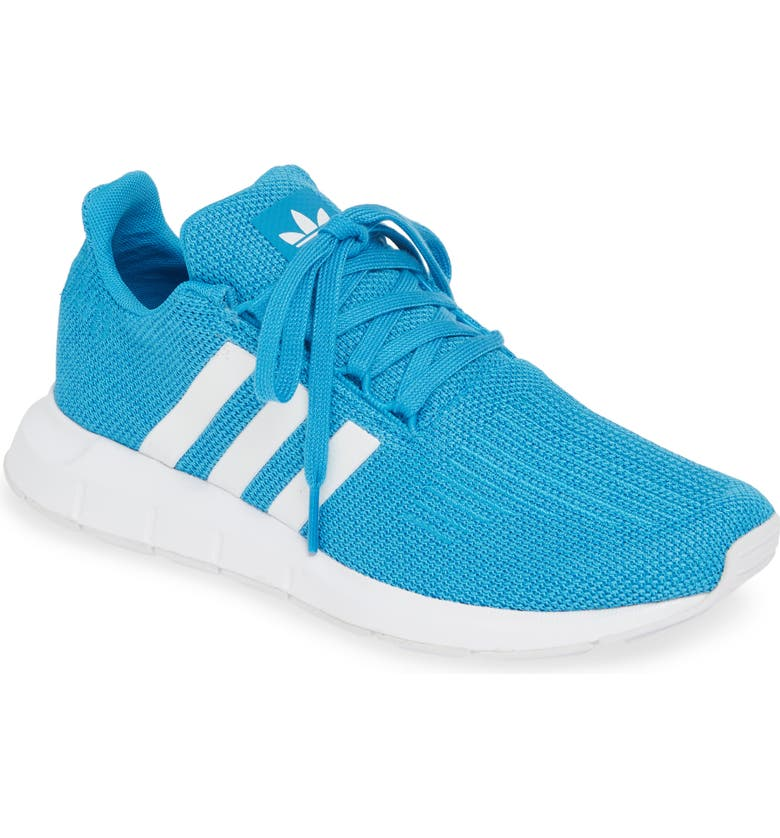 ADIDAS Swift Run Sneaker, Main, color, SHOCK CYAN/ WHITE/ WHITE