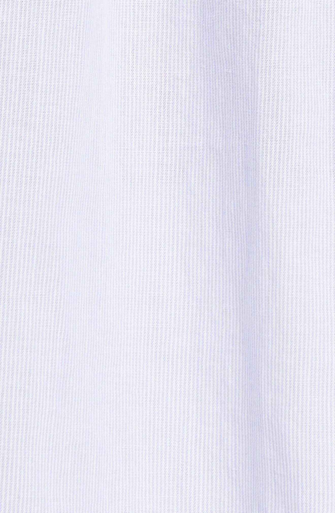 Frame Tops Raw Edge Ruffle Trim Top