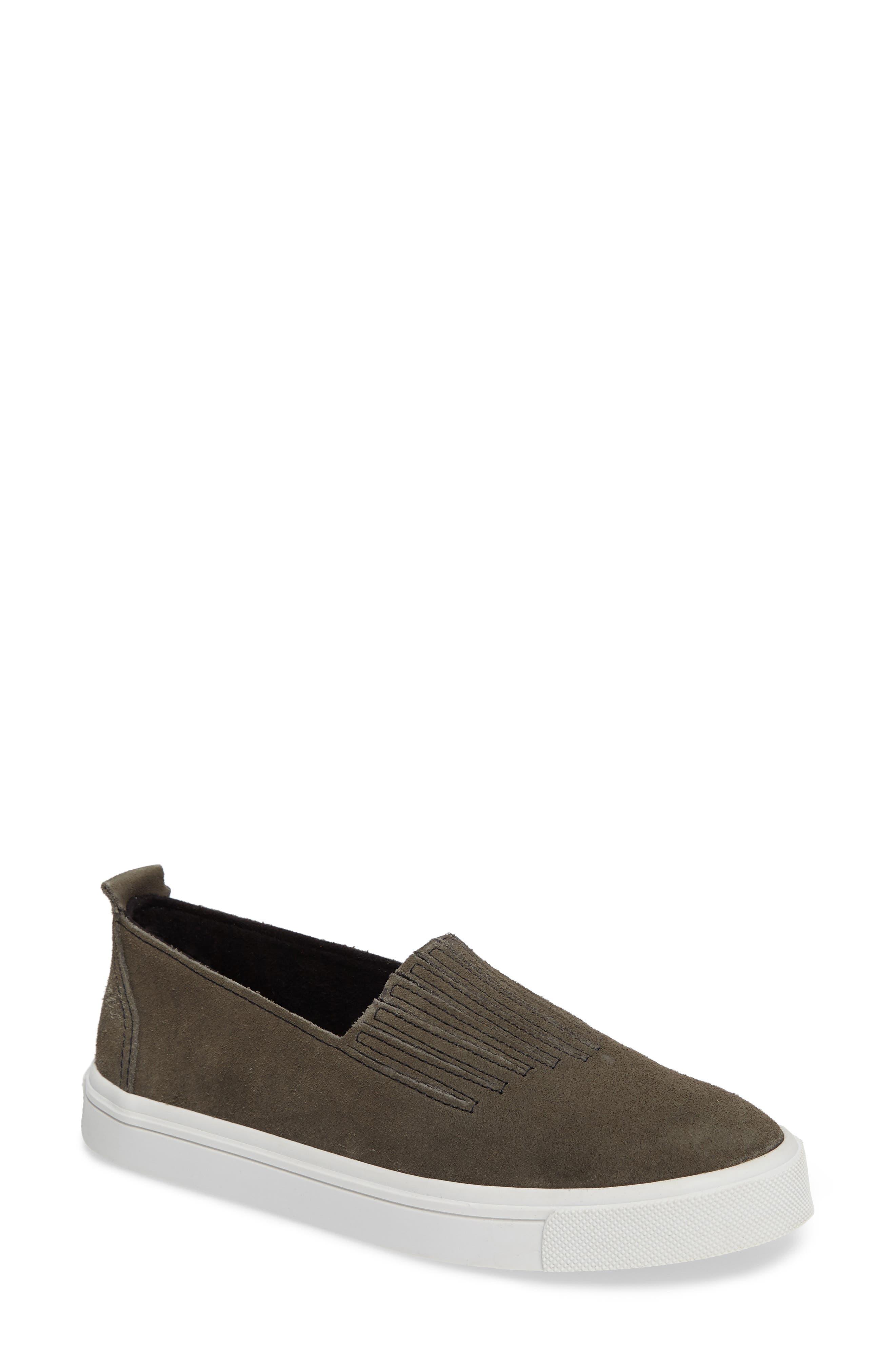 Minnetonka Gabi Slip-On Sneaker, Grey