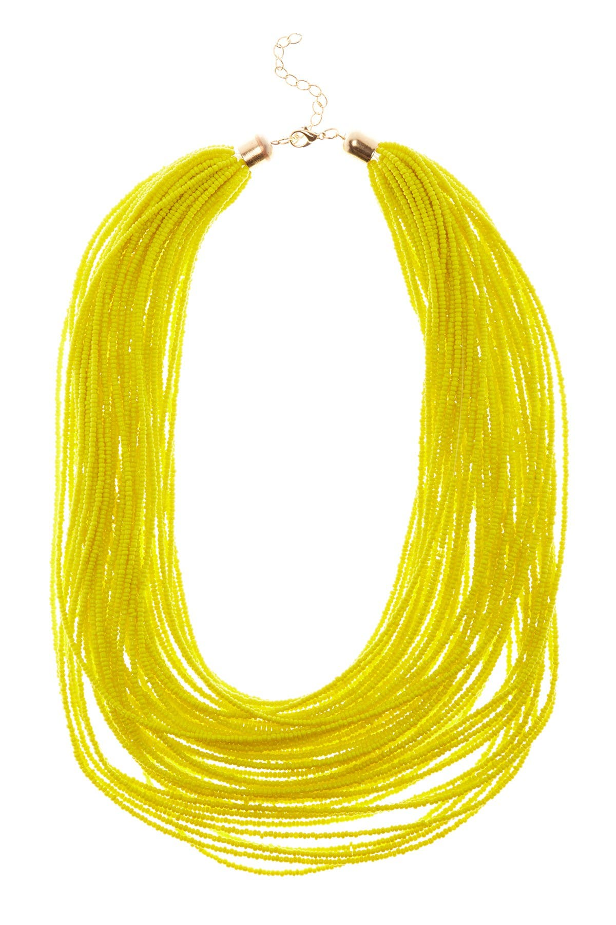 Image of Eye Candy Los Angeles Beaded Multilayered Necklace
