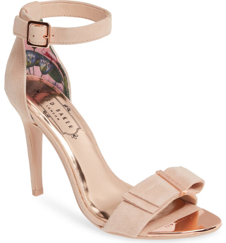 Hanma Ankle Strap Sandal, Main, color, NUDE PINK SUEDE