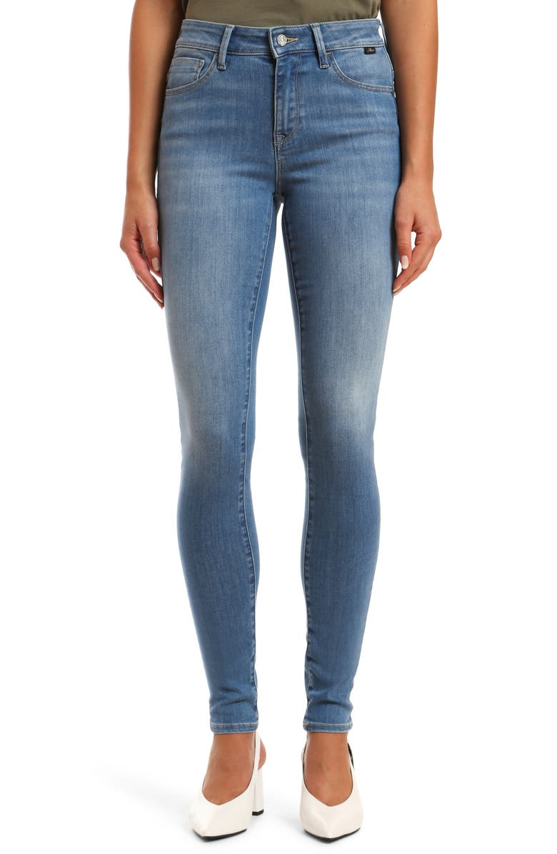 MAVI JEANS Alissa Skinny Jeans, Main, color, LIGHT SUPER SOFT