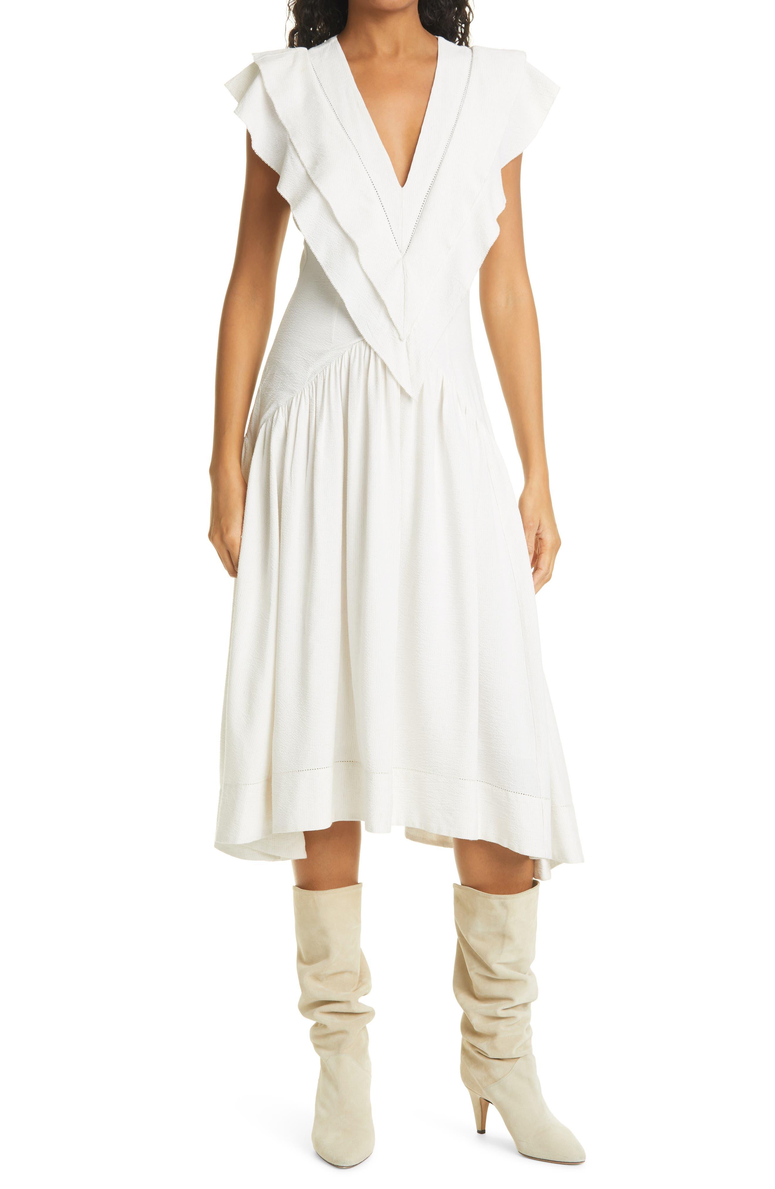 Women's Isabel Marant Etoile Hillary Midi Dress