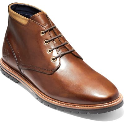 Cole Haan Raymond Grand Water Resistant Chukka Boot, Brown