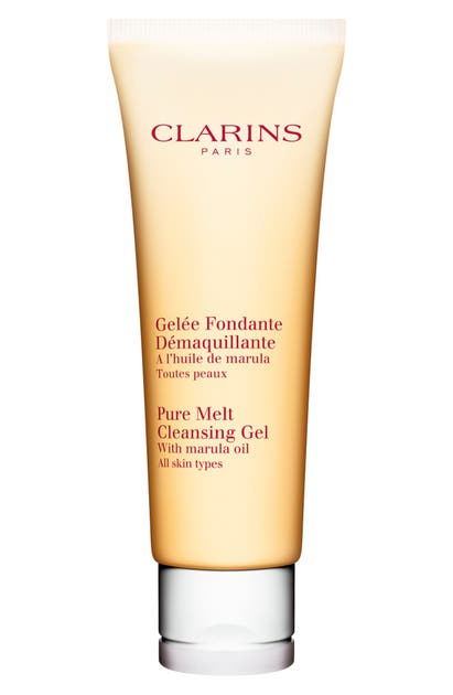 Clarins Pure Melt Cleansing Gel For All Skin Types, 3.9 oz