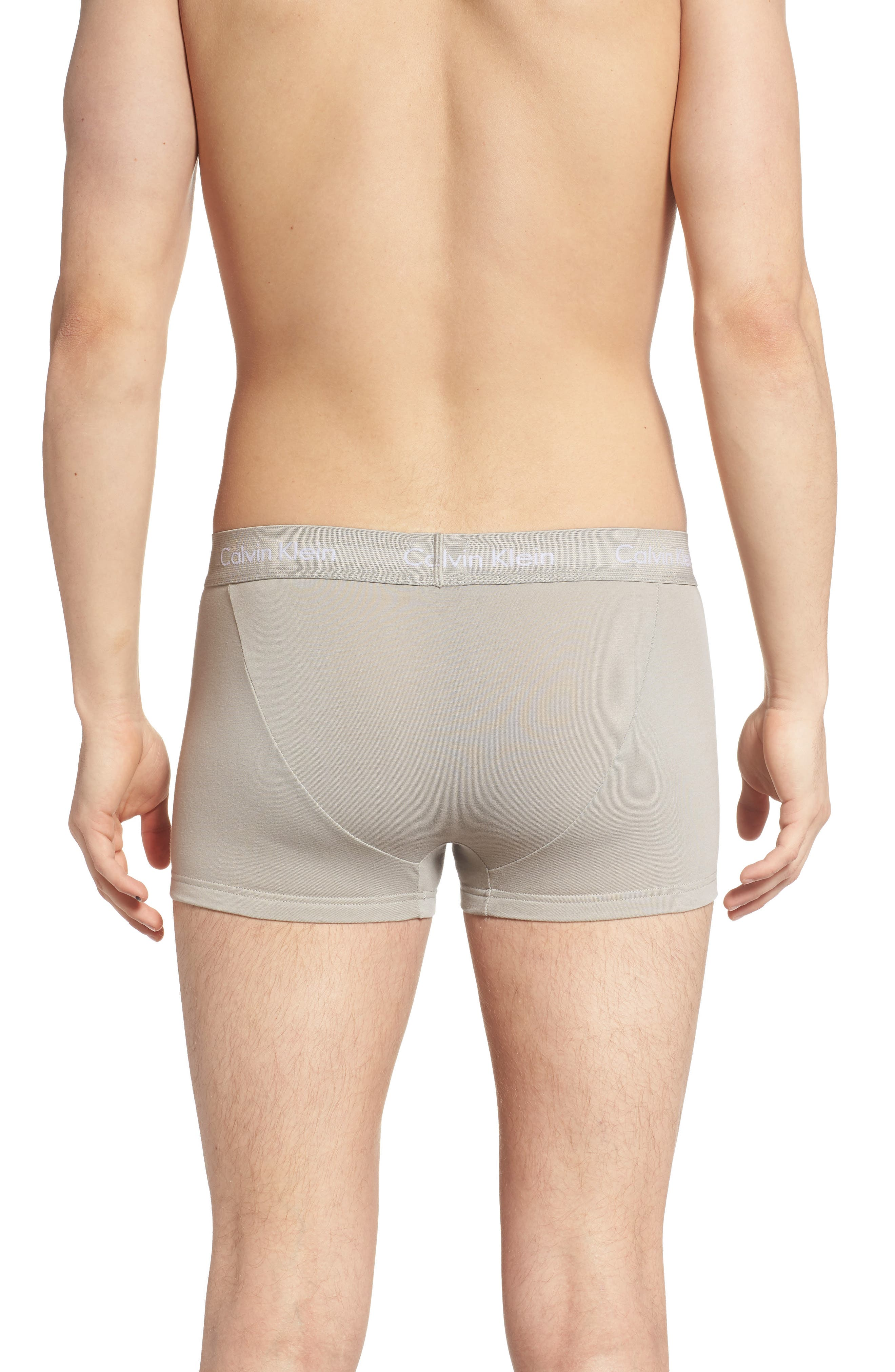 ,                             3-Pack Stretch Cotton Low Rise Trunks,                             Alternate thumbnail 10, color,                             020