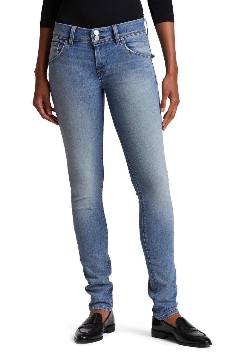 HUDSON JEANS Collin Skinny Jeans, Main, color, WORD PLAY