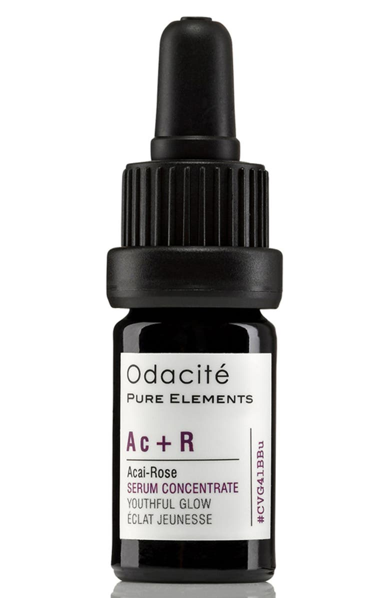ODACITÉ Ac + R Açai-Rose Youthful Glow Facial Serum Concentrate, Main, color, NO COLOR