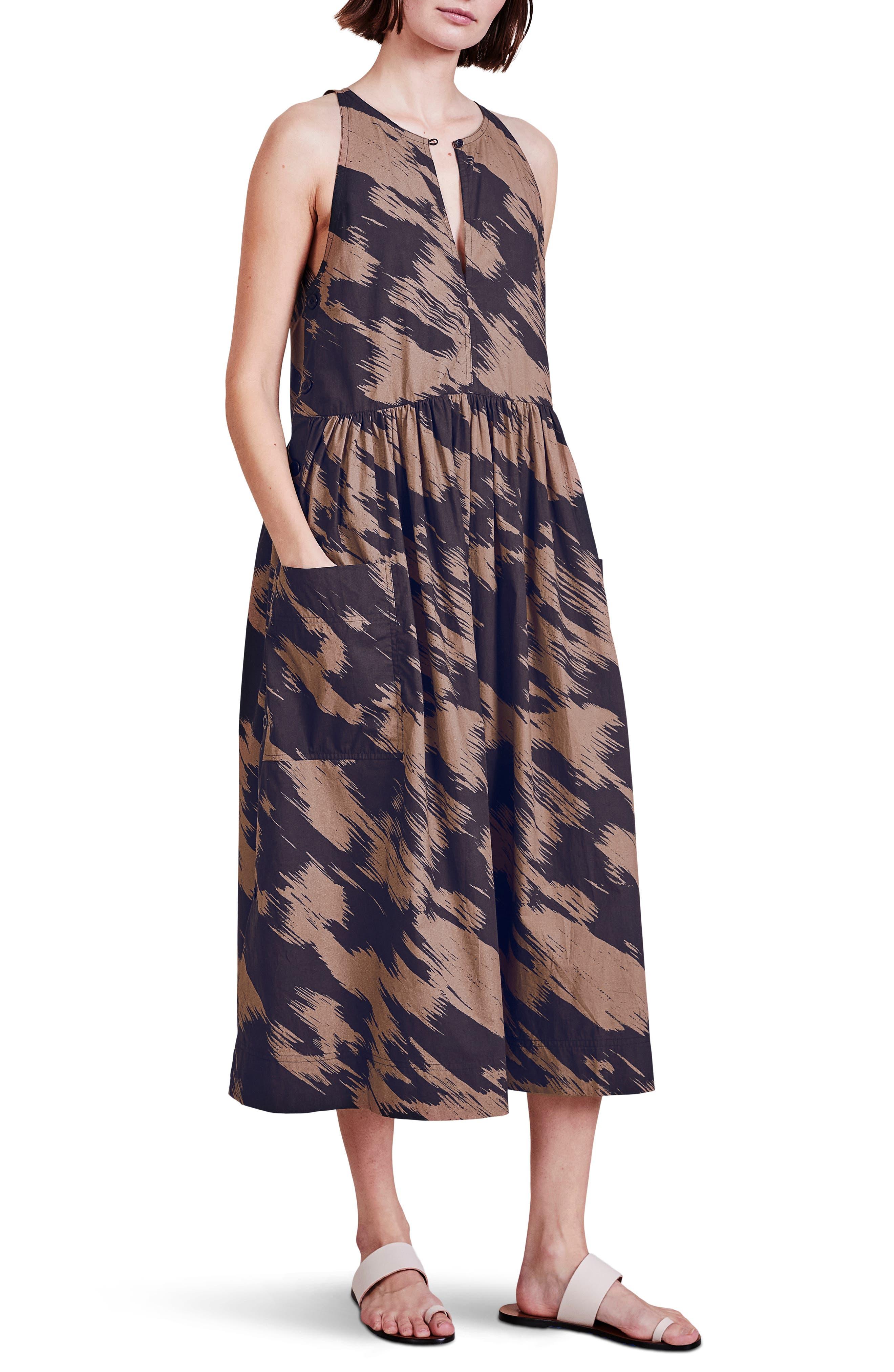 San Cristobal Organic Cotton Midi Dress