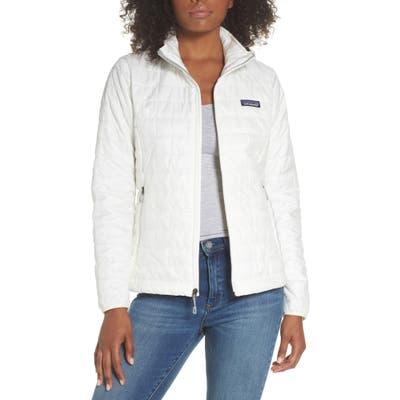 Patagonia Nano Puff Water Resistant Jacket, White