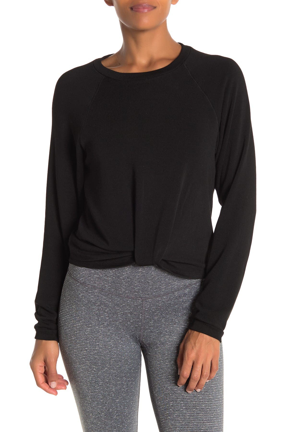 Image of Abound Twist Front Knit Sweater