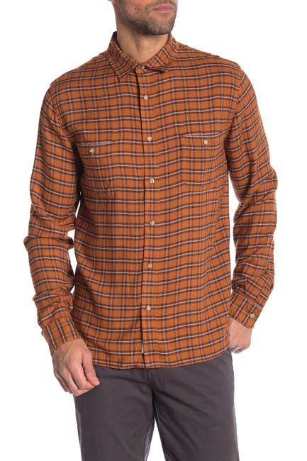 Image of Onia Liam Plaid Relaxed Fit Shirt