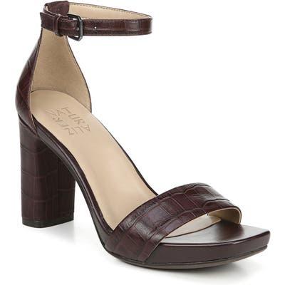 Naturalizer Joy Ankle Strap Sandal W - Red