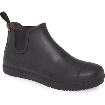 Bogs Overcast Waterproof Chelsea Boot, Black