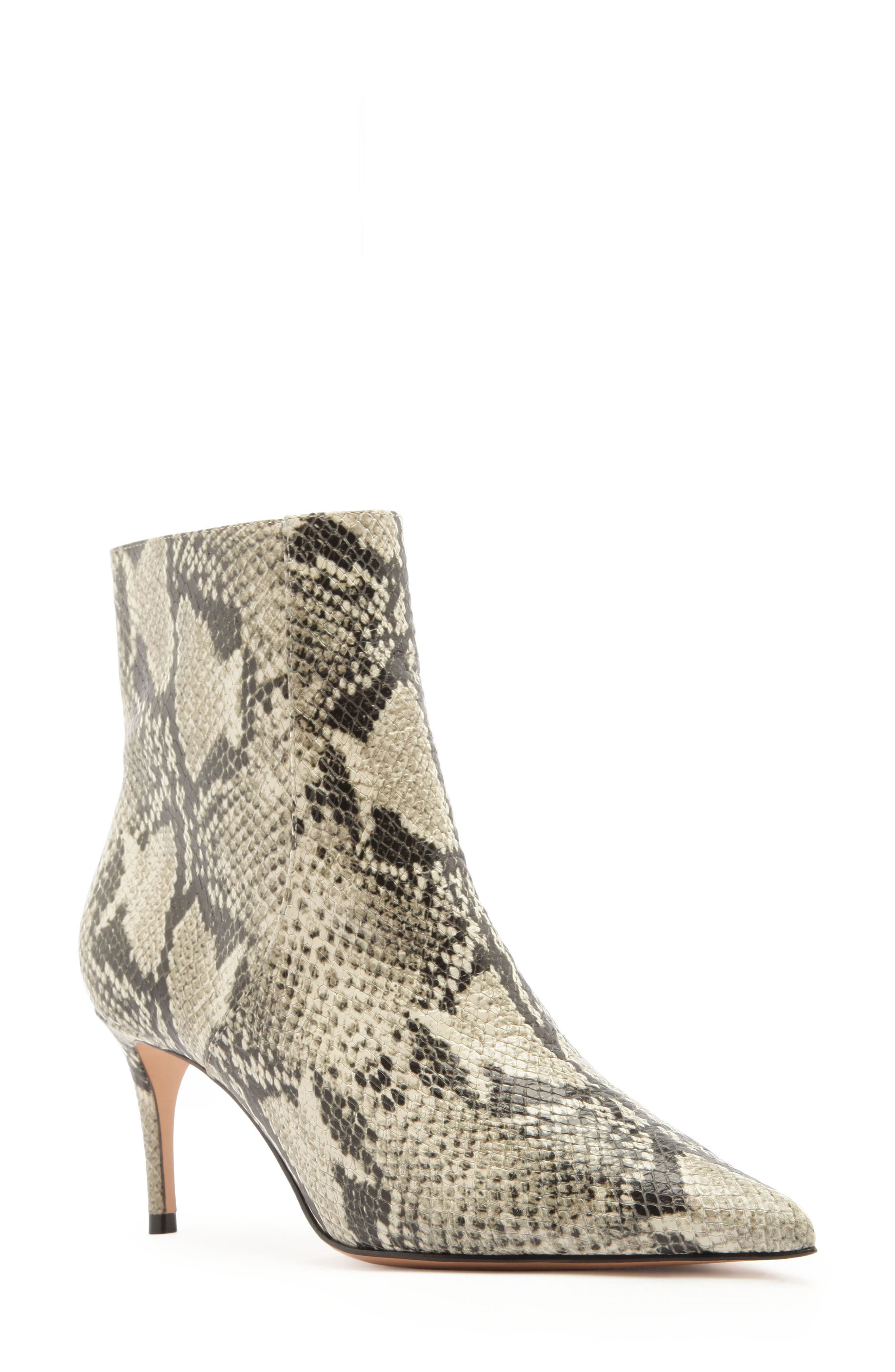 A pointy-toe bootie made with a cushioned footbed is lofted by a svelte heel. Style Name: Schutz Bette Bootie (Women). Style Number: 5430274. Available in stores.