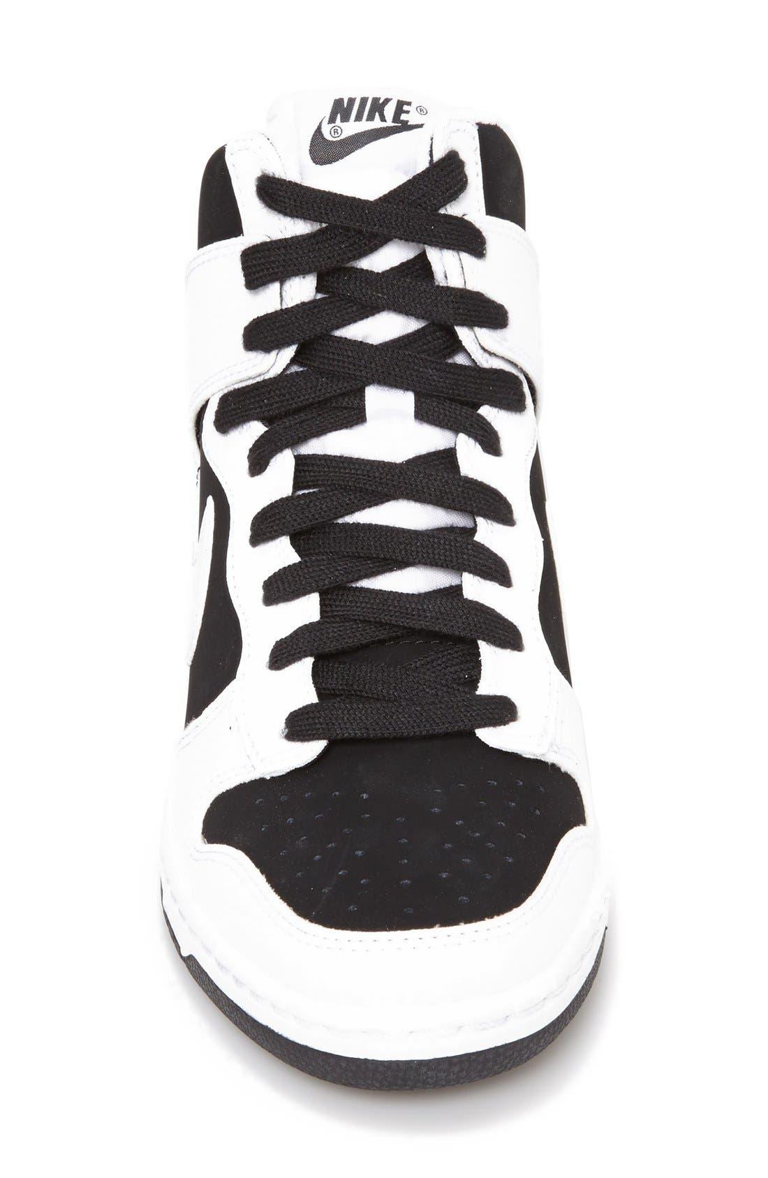 ,                             'Dunk Sky Hi - Essential' Wedge Sneaker,                             Alternate thumbnail 14, color,                             007
