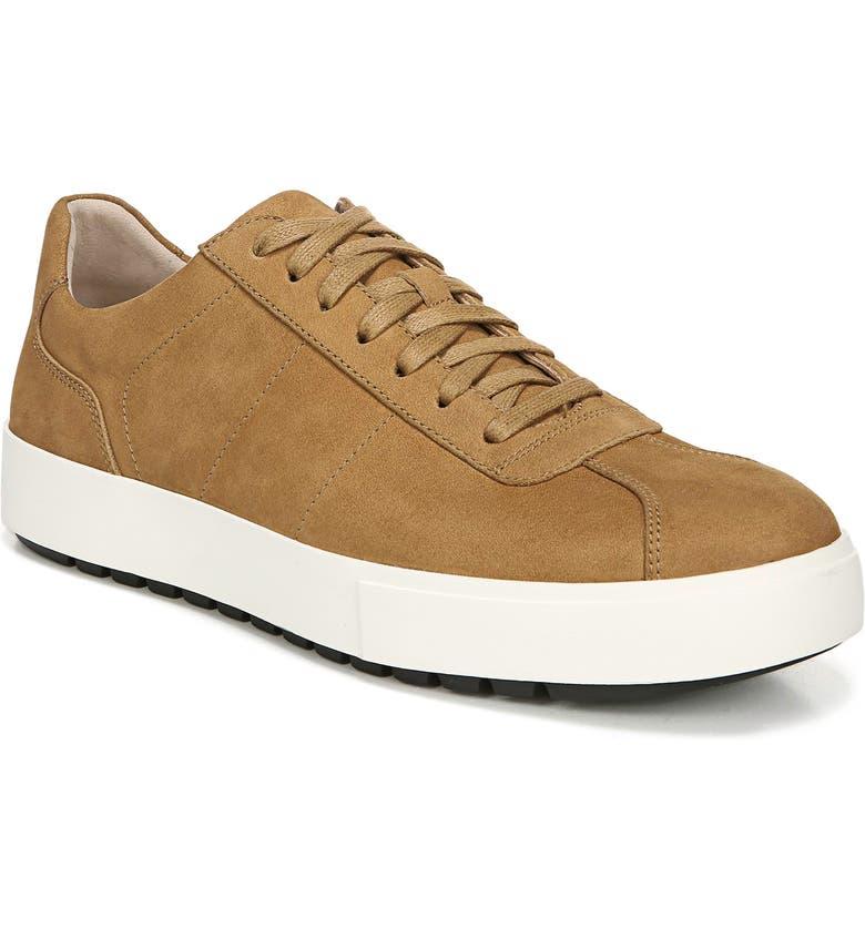 VINCE Lamont Sneaker, Main, color, CAMEL