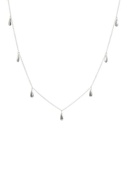 Image of Savvy Cie Sterling Silver Plated Choker Necklace