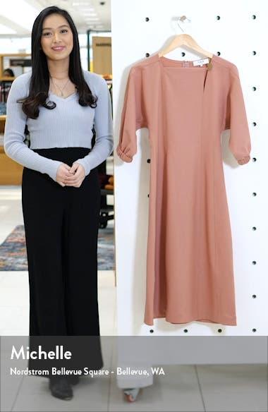 Hayes Blouson Sleeve Midi Dress, sales video thumbnail