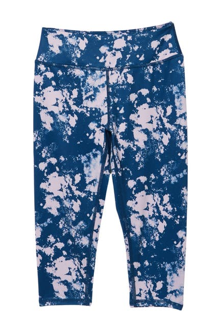 Image of Z by Zella Girl Daily Printed High Waisted Cropped Leggings