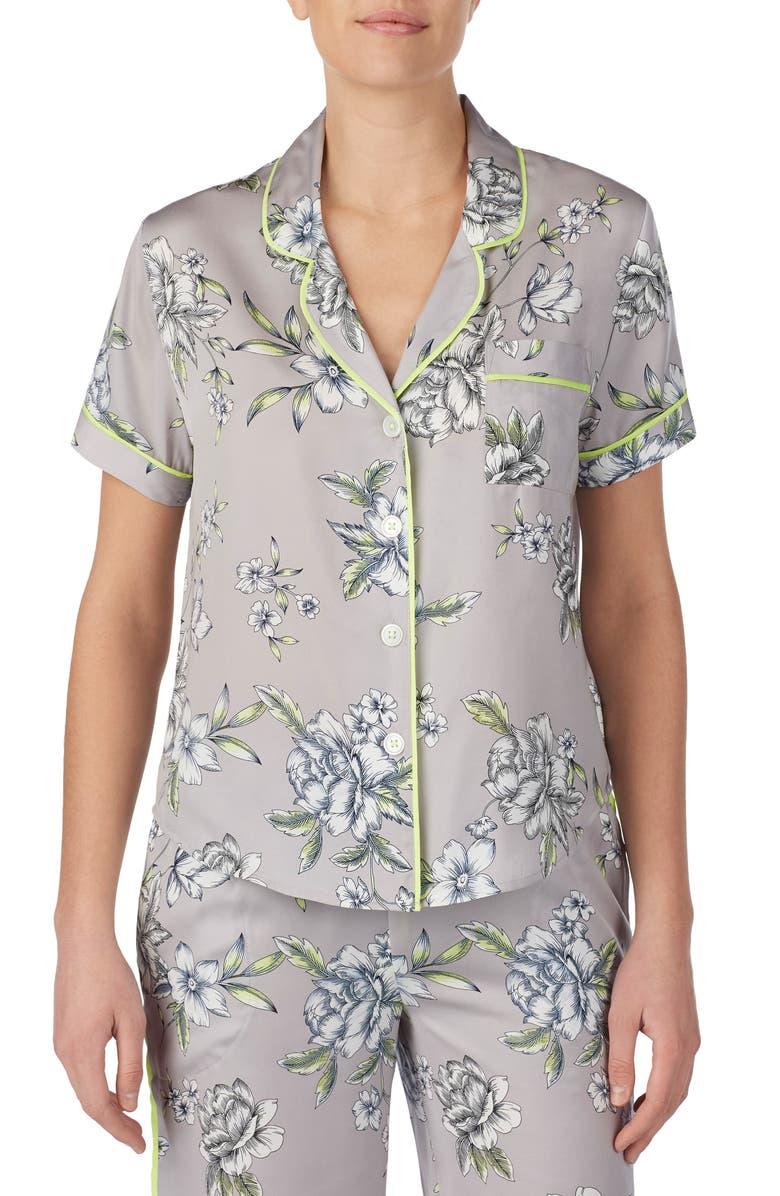 ROOM SERVICE Pajama Top, Main, color, 034