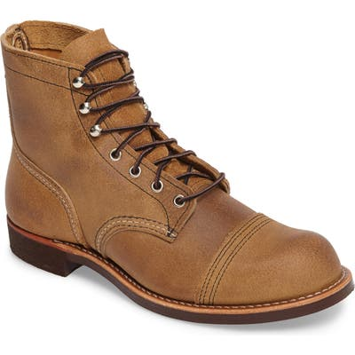 Red Wing Iron Ranger Cap Toe Boot, Brown