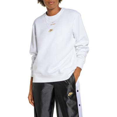 Nike Sportswear Embroidered Glam Fleece Sweatshirt