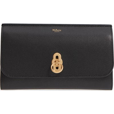 Mulberry Amberley Calfskin Leather Clutch -