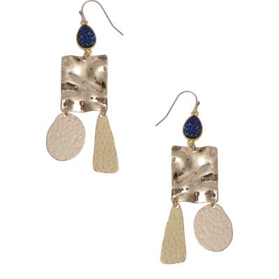 Nakamol Design Medallion Drop Earrings