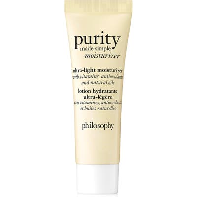 Philosophy Purity Made Simple Ultra-Light Moisturizer, .7 oz