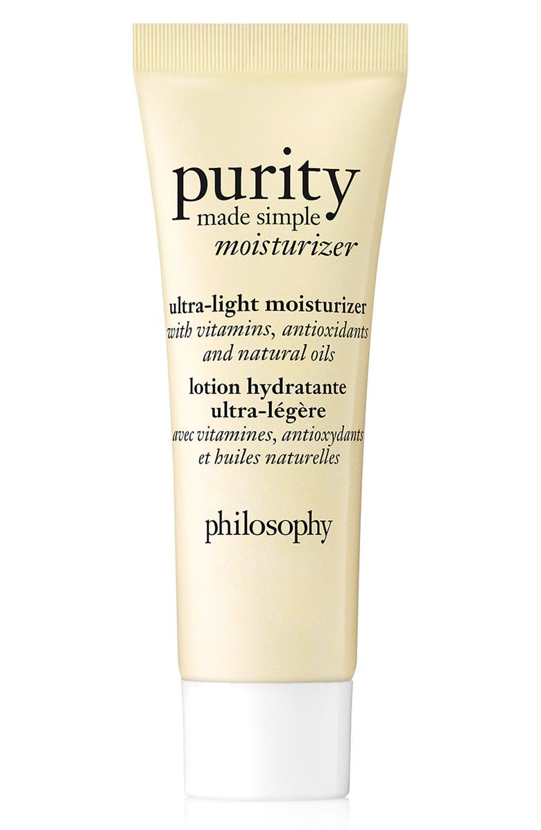 PHILOSOPHY purity made simple ultra-light moisturizer, Main, color, NO COLOR