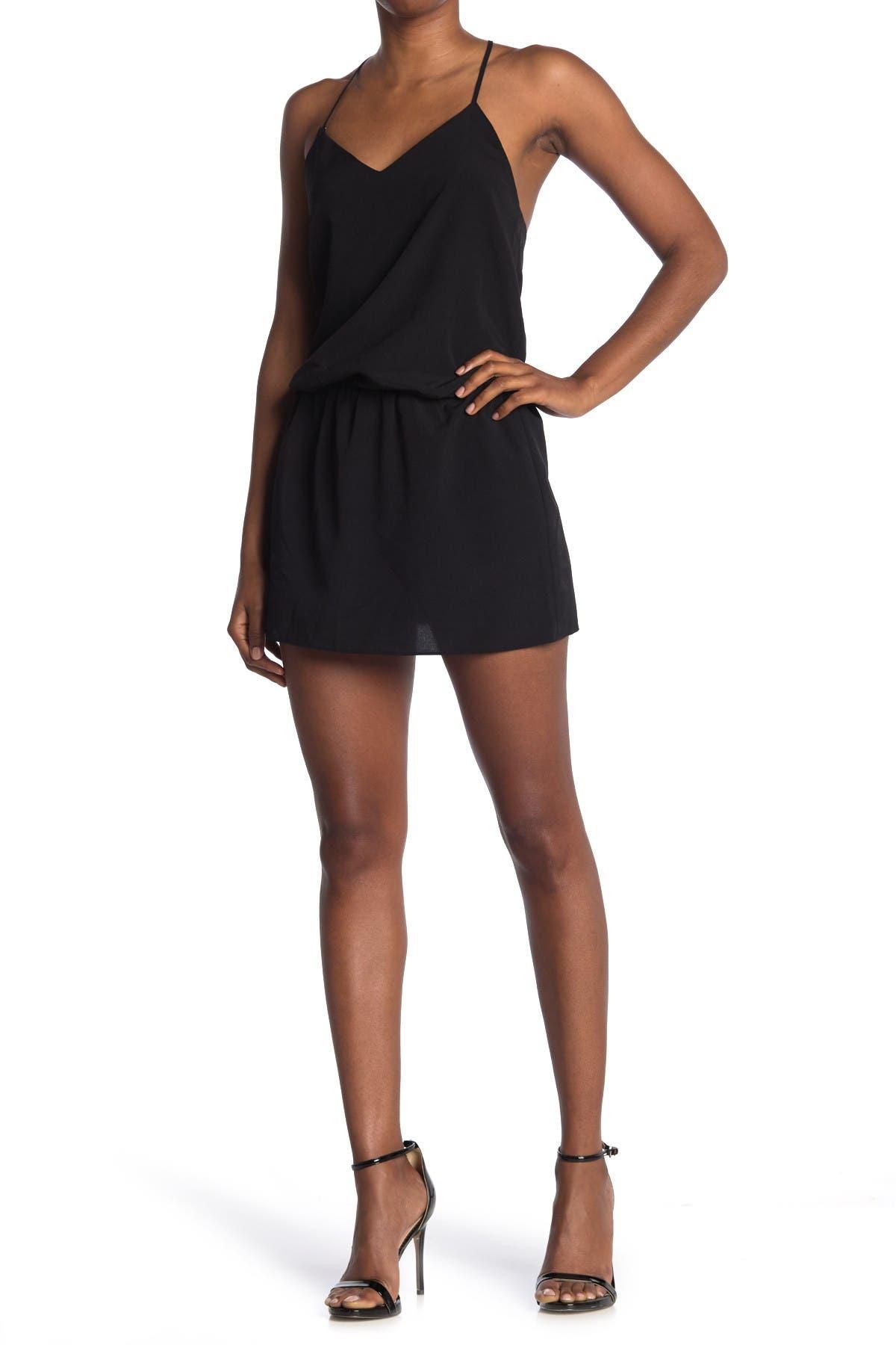 Image of HALSTON Mirage Mini Dress