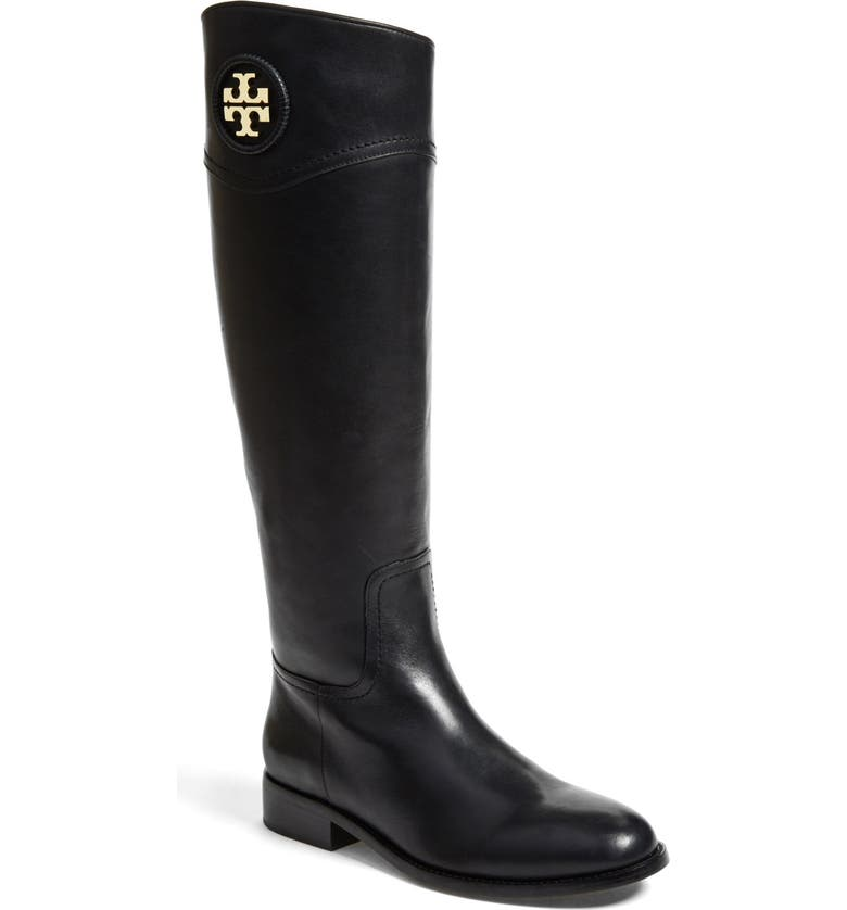 TORY BURCH 'Ashlynn' Riding Boot, Main, color, 001