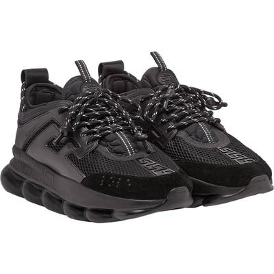 Versace Chain Reaction Sneaker, US / 47EU - Black