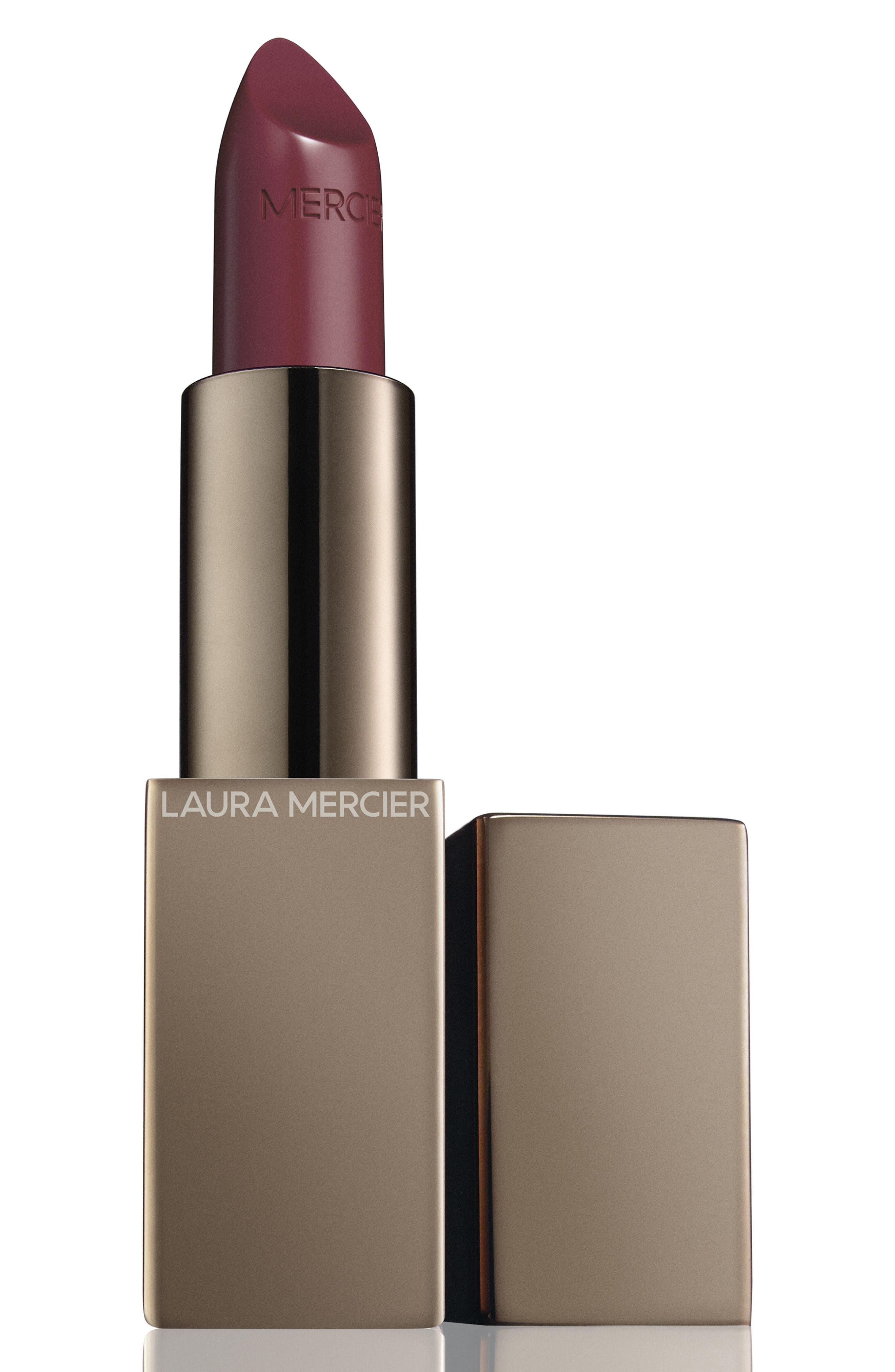 Image of Laura Mercier Rouge Essentiel Silky Creme Lipstick - Mauve Plum