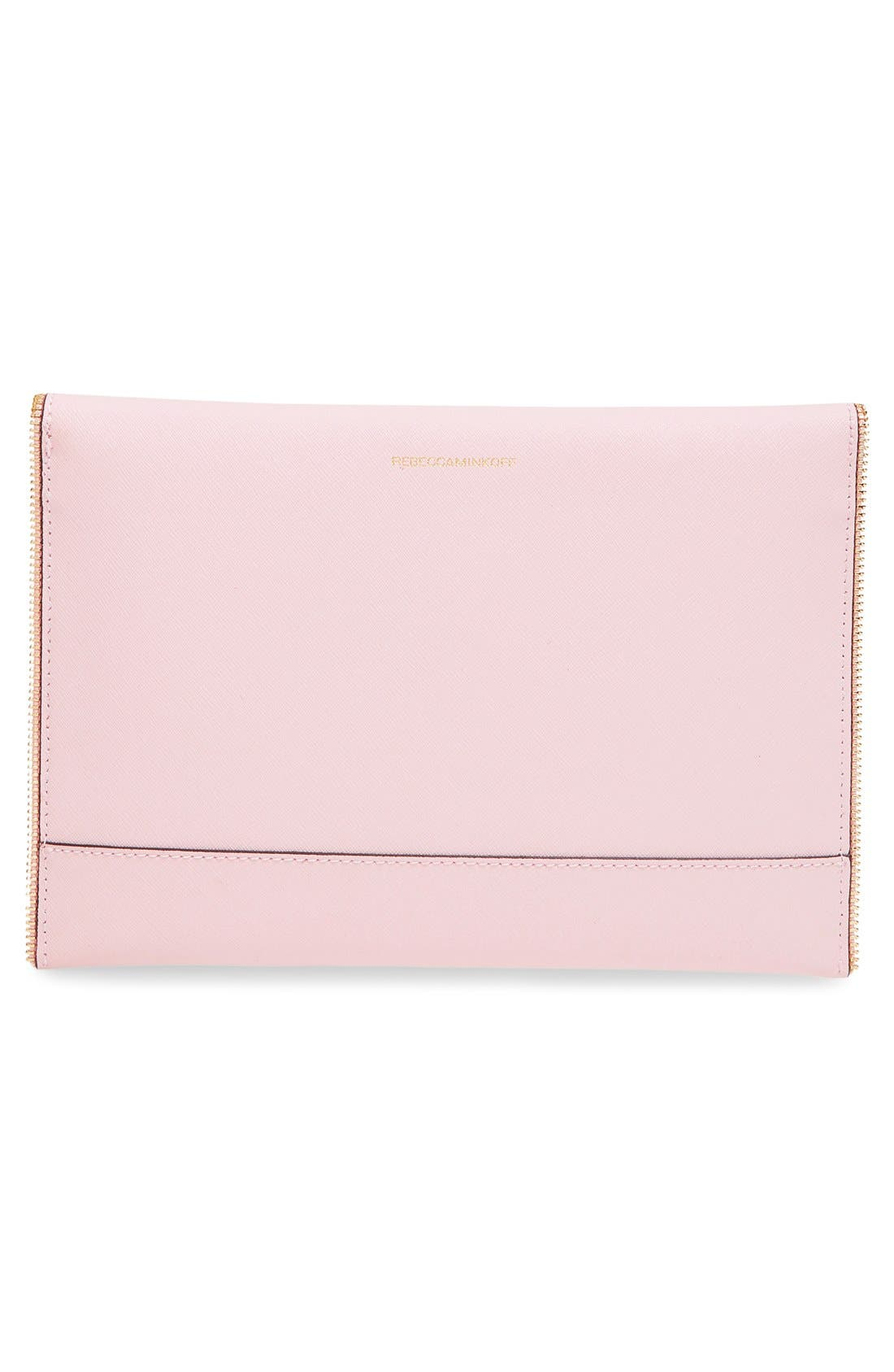 ,                             Leo Envelope Clutch,                             Alternate thumbnail 275, color,                             656