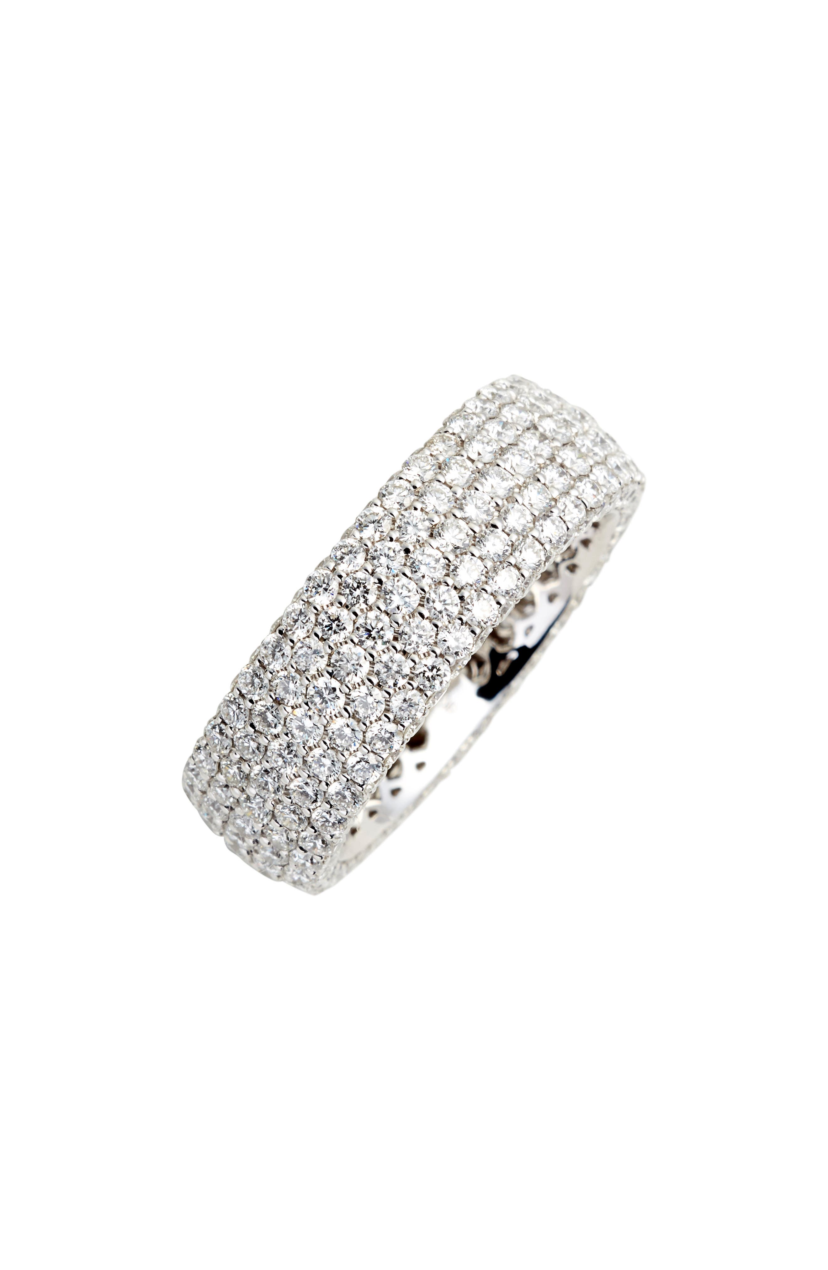 Diamond Pave Wide Eternity Ring (Nordstrom Exclusive)