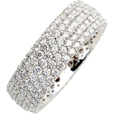Bony Levy Diamond Pave Wide Eternity Ring (Nordstrom Exclusive)