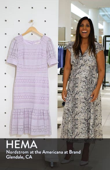 Square Neck Lace Dress, sales video thumbnail